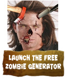 Launch the free Zombie Generator App